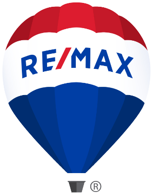 The RE/MAX balloon with the new 2017 logo